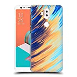 Official Andi Greyscale Two Sides of One Extreme Abstract Marbling Hard Back Case Compatible for Asus Zenfone 5 Lite ZC600KL