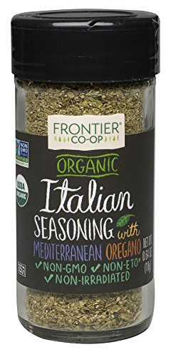 - Frontier Italian Seasoning Certified Organic, 0.64-Ounce Bottle
