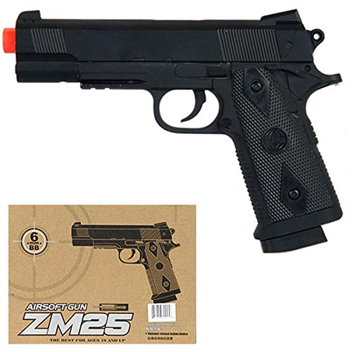 AirSoft CYMA M1911 Full Metal Body - Spring Handgun for sale  Delivered anywhere in USA