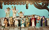 Bethany Lowe The Christmas Pageant Eleven Piece Nativity Children Figures
