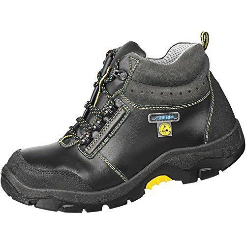 Abeba 32270–36Anatom–Zapatos de seguridad botas/estilo ATEX, Negro, 32270-48