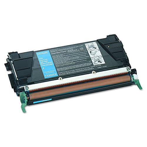 (Lexmark C5340CX Extra High-Yield Toner, 7000 Page-Yield, Cyan)