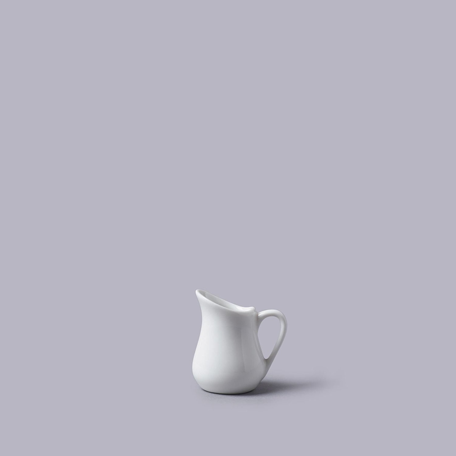 Traditional Style White Mini Ceramic 25ml Pouring Jug (5cm)