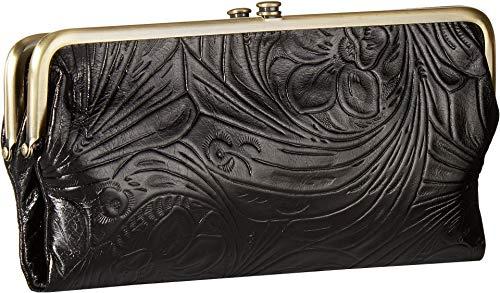 1 HOBO Wallet Vintage Embossed Lauren Black qppSzXgwx
