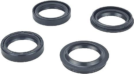 Fork and Dust Seal Kit 56-132 For BMW//Buell//Honda//Kawasaki//Suzuki//Yamaha 54.05mm//54.3mm