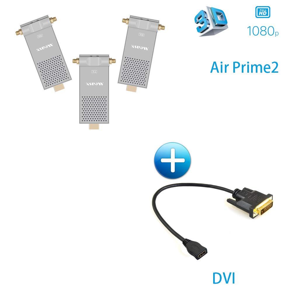 HDMIワイヤレスエクステンダー 5.8GHz HDMIトランスミッターレシーバー 1080P 200M/656フィート 1080P ビデオオーディオ B07GDD55Y2 3D 3D HDMI送信機 DVIケーブル付属 B07GDD55Y2, あいらぶギフトベビー:6162b553 --- fancycertifieds.xyz
