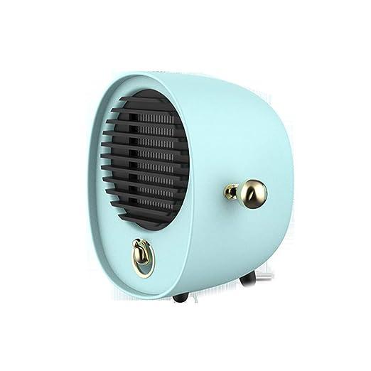 Abrazo Calentador Ventilador Calentador Escritorio Mini Silencio ...