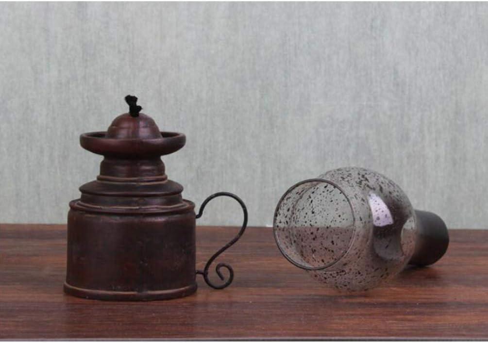 Exceart Lampada A Olio Vintage Ornamento Da Tavolo Modello In Resina Portacandele Per La Decorazione Della Tavola Del Partito A Casa Candele E Portacandele Casa E Cucina