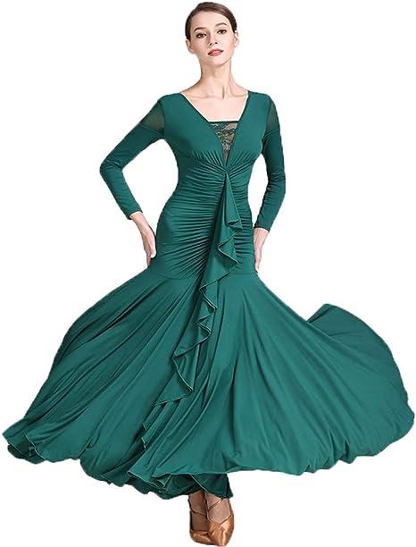 Liu Sensen 2018 Diseños Originales Baile Vestido Pecho Falbala ...