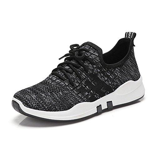 Zapatos Nan Korean Gris Zapatos Movimiento de New Transpirables Negro Para Zapatos The mujer Negro Correr Zapatos Casuales Morado Version Individuales EqPnqC