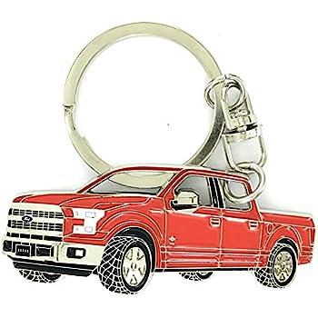 Cargifts Porte-cl/és en m/étal chrom/é pour Nissan Navara