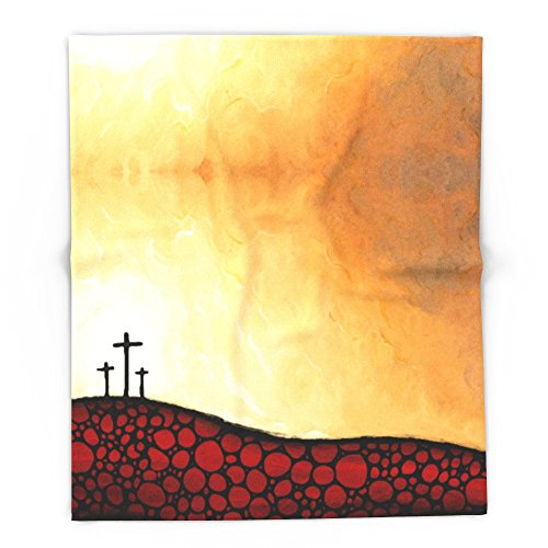 Society6 Forgiven - Christian Art By Sharon Cummings 88'' x 104'' Blanket by Society6