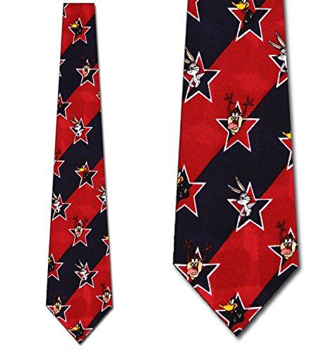 Looney Tunes USA Tie - Mens Cartoon Necktie ()