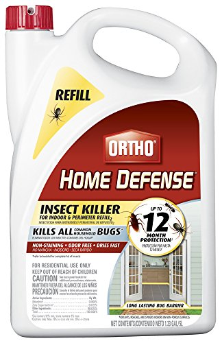 (Ortho 0221910 071549022198 Home Defense Insect Killer for Indoor & Perimeter Refill, 1.33 GAL)