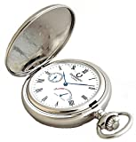 Desperado Automatic Mechanical Pocket Watch with Power Reserve Indicator, 33 Jewels, 530W