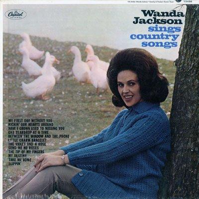 Wanda Jackson Sings Country Songs Amazoncom Music