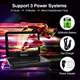 """DBPOWER 12"""" Portable DVD Player with 5-Hour"""