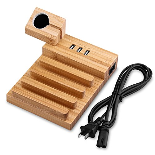 multi-device-usb-charging-dock-station-allomn-3-port-detachable-bamboo-wood-charging-stand-cable-cor