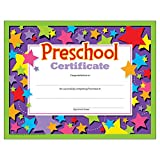TREND enterprises, Inc. T-17006BN Preschool Certificate, 30 Per Pack, 6 Packs