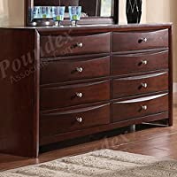 Contemporary Dresser in Espresso by Poundex