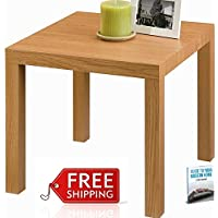 Simplistic End Table For Living Room Contemporary Modern Small Table Accent Furniture Decorative Elegant Classic Minimal Bedroom Nightstand Low Home Table Natural And eBook By NAKSHOP