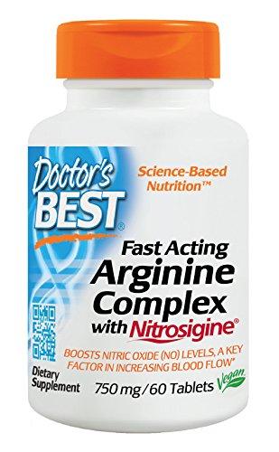 Doctors Best Arginine Complex Nitrosigine product image
