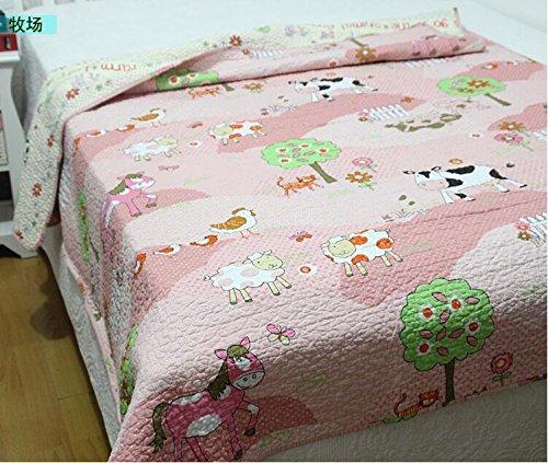 Cute Farm Animals Baby Bedding C...