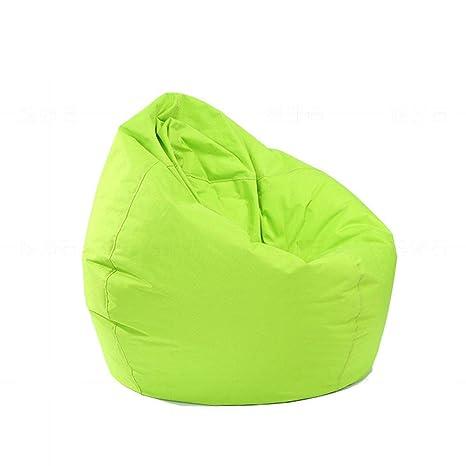 Stupendous Youjiaxiaodian Unfilled Lounge Bean Bag Sofa Cover Home Soft Lazy Sofa Cozy Green Creativecarmelina Interior Chair Design Creativecarmelinacom