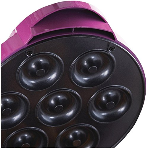 Brentwood RA25986 Appliances TS-250 Electric Food (Mini Donut Maker), One-Size Pink by Brentwood (Image #6)