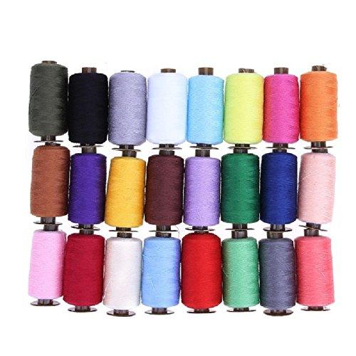 ultimafio ( TM ) 60 / 39 / 24pcsポリエステルマシンスレッド裁縫ソーイングスレッドキットDIYニット織りクラフトスレッド裁縫アクセサリー Ul-32809942322-CMT-Thread-39Pcs  39Pcs B076ZM9NMW