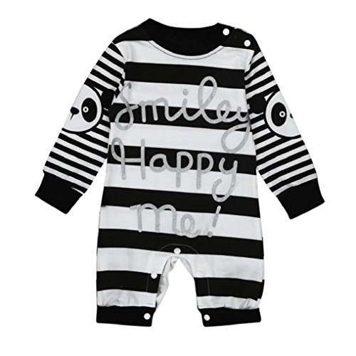 [CocoMarket Baby Romper Jumpsuit Bodysuit Panda Print (70)] (Funny Make Your Own Costume Ideas)