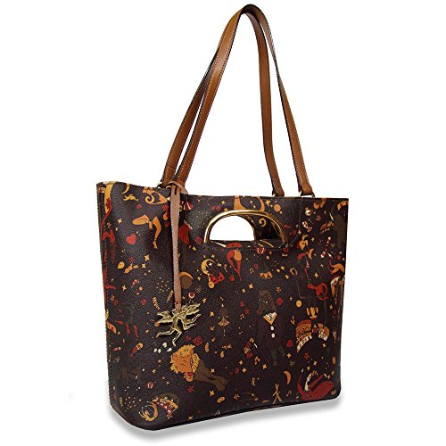 BORSA PIERO GUIDI MAGIC CIRCUS TOTE BAG 210594088 10 MARRONE Para La Línea Barata U9ij4Vyo