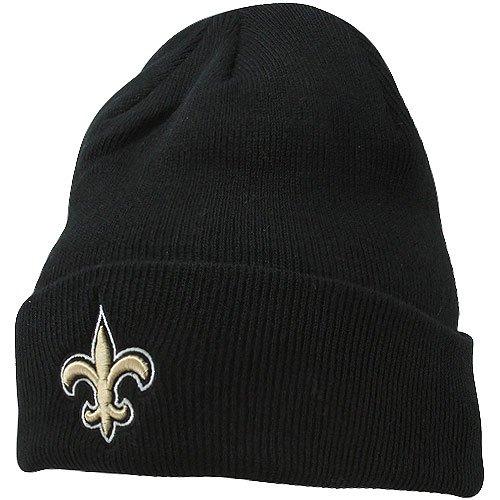 NFL New Orleans Saints '47 Raised Cuff Knit Hat, Black, One Size