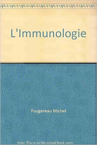 Livre gratuits L'Immunologie pdf