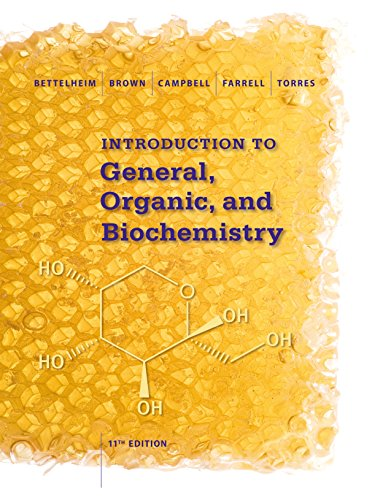 Introduction to General, Organic and Biochemistry ('011)