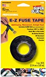 Super Glue Super Glue 15408-12 EZ Fuse Silicone Tape, Black, 10-Feet, 12-Pack(Pack of 12)