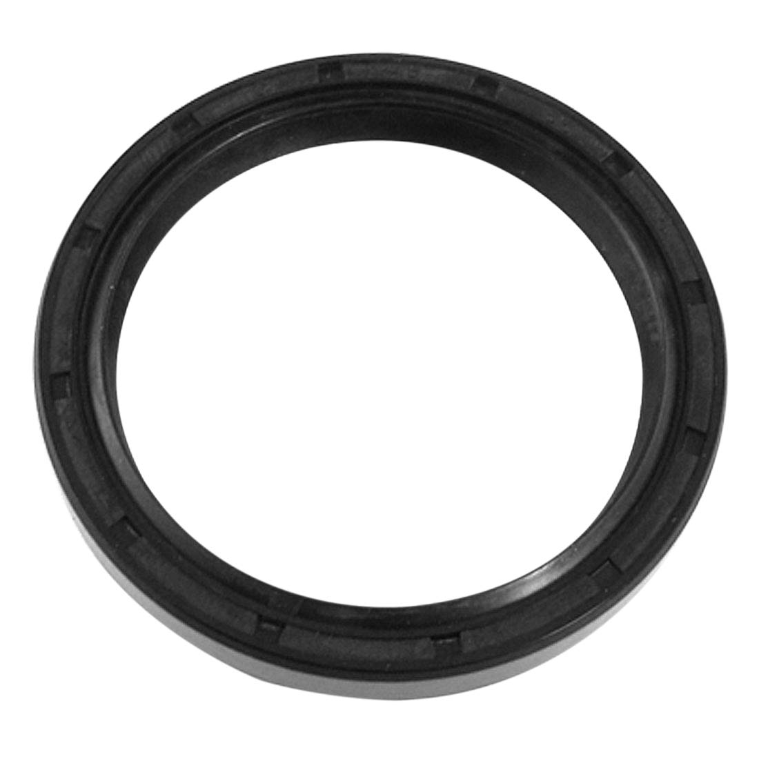 uxcell TC Double Lip Metric Rotary Shaft Oil Seal 45x56x8mm w Steel Garter Spring