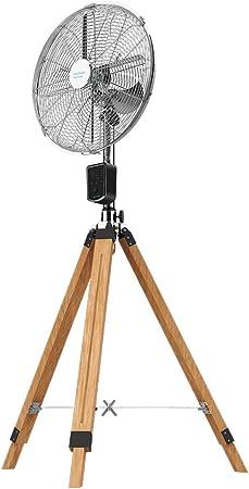 Cecotec Ventilador trpode EnergySilence 1600 Woody Smart. 4 aspas ...