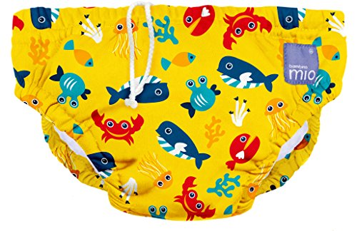 Large Multicolour 1-2 Years Tutti Fruiti Bambino Mio Reusable Swim Nappy