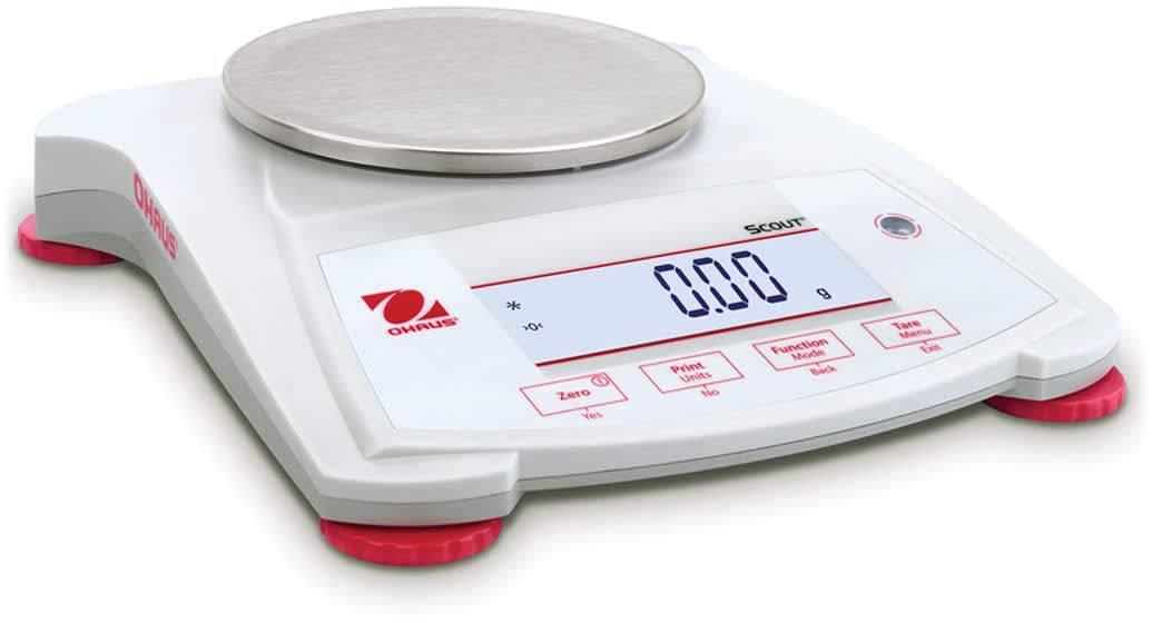 Ohaus SPX222 Scout Analytical Balance, 220 g x 0.01 g by Ohaus