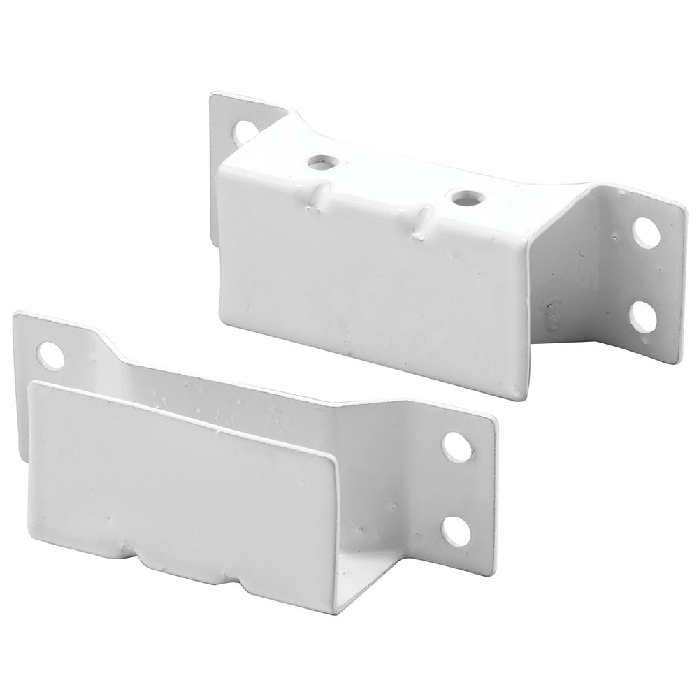 Prime-Line Products PL 8148 7/16-Inch Solar Screen Hanger Brackets, White,(Pack of 2)