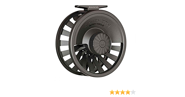 Gunmetal Redington Behemoth Mighty Powerful Deep Spool Ambidextrous Retrieval 7//8 Fly Fishing Reel with Nylon Carrying Case