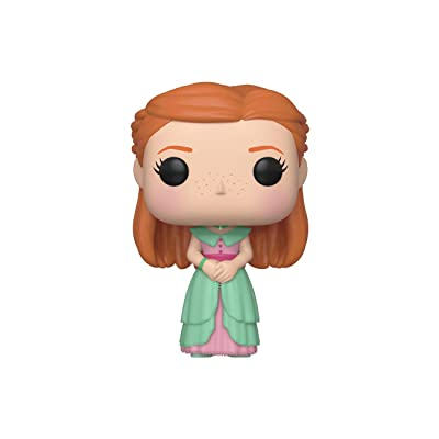 Funko Pop! Movies: Harry Potter - Ginny (Yule): Toys & Games