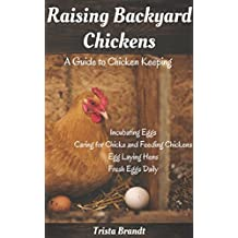 Raising Backyard Chickens: A Guide to Chicken Keeping From Incubating Eggs, Caring for Chicks and Feeding Chickens to Egg Laying Hens