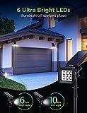 InnoGear Solar Lights Outdoor, 6 LED Solar