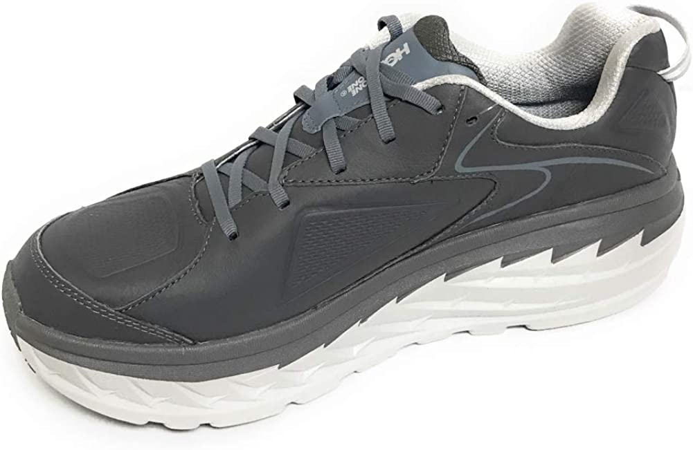 Hoka One M Bondi LTR Charcoal Running Shoes