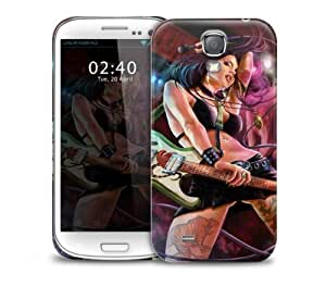 Tattoo Rock Girl Samsung Galasy S3 I9300 protective phone case