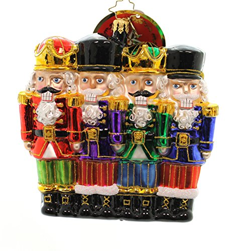 Christopher Radko All in a Row Nutcracker Christmas - Ornaments Nutcracker Radko