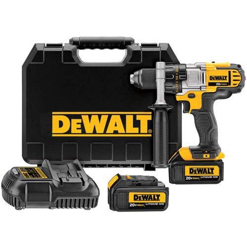 (DEWALT 20V MAX XR Brushless Drill/Driver 3-Speed, Premium 4.0Ah Kit)