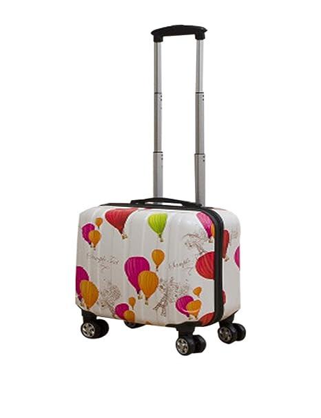Caja Embarque Maleta Ruedas - Rotación Viajar Negocio Colegio Avión Ordenador Portátil Maletero Pequeño Adultos Niños